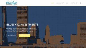 Blue Skyz Investments Website