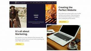 The perfect Website Design