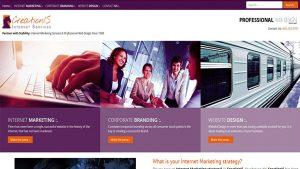 Previous CreationIS Website Design