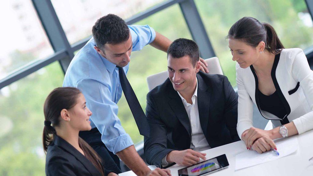 Group of people meeting