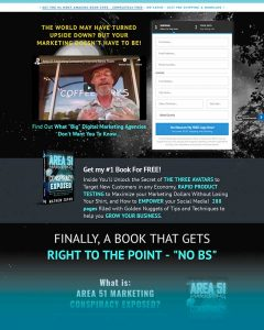 Area 51 Marketing Conspiracy Exposed Website image