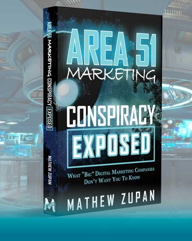 Area 51 Marketing Book Cover